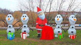 Дед Мороз, Новый Год 2018 и подарки для детей (21 серия видео для детей на kidsFM)