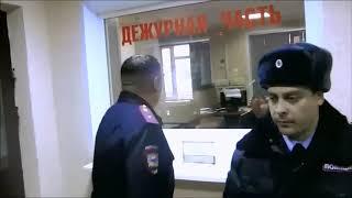 Балашовский полицейский запретил снимать его лицо на его службе