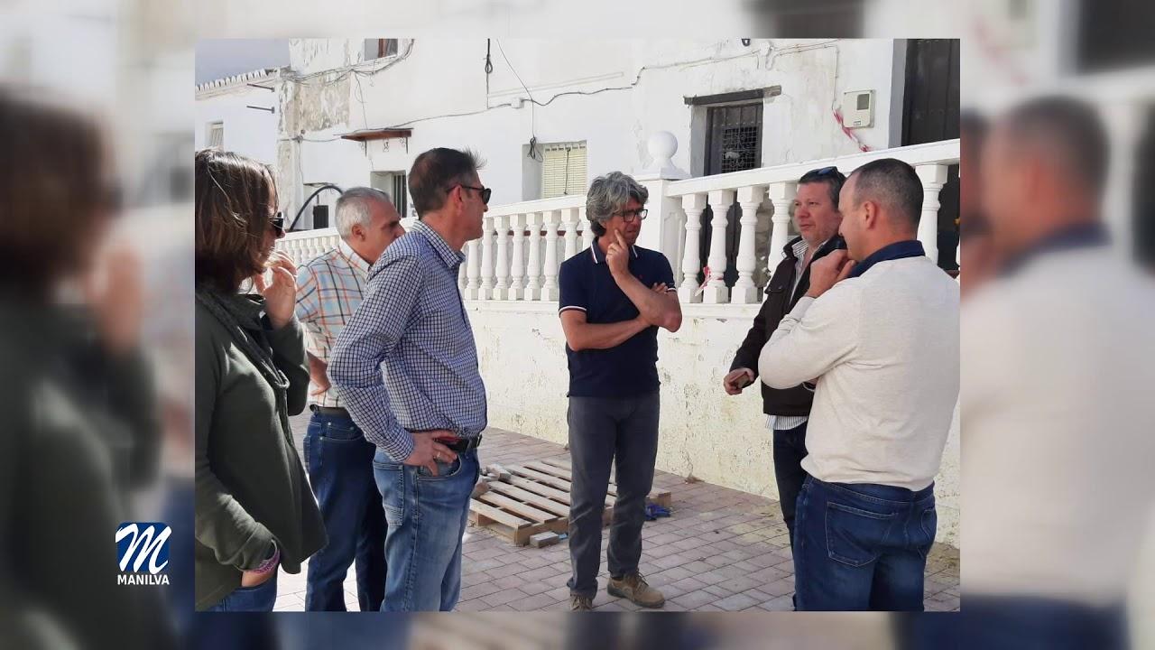 Recta final de las obras en las calles Pósito e Isidoro