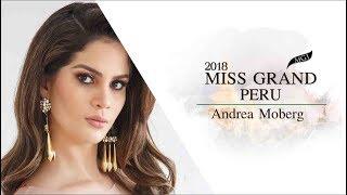 Andrea Moberg Tobies Miss Grand Peru 2018 Introduction Video