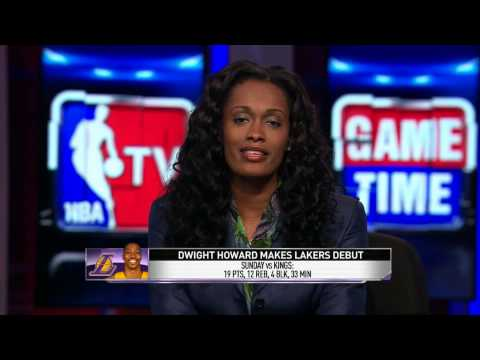 Dwight's Makes Laker's Debut | 10/21/2012 | October 21, 2012 | NBA Preseason