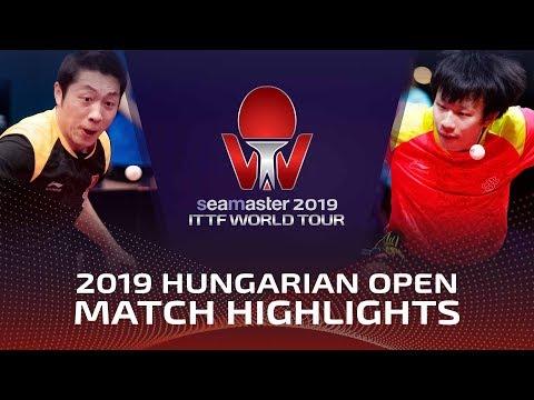 Lin Gaoyuan vs Xu Xin | 2019 ITTF World Tour Hungarian Open Highlights (1/2)