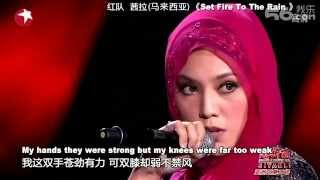 Asian Wave 20120912 : Shila Amzah - Set Fire To The Rain
