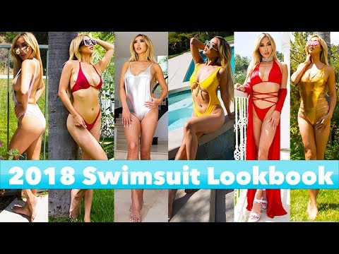HUGE AFFORDABLE SWIMWEAR TRY-ON HAUL & REVIEW AMIClubwear 2018 LOOKBOOK