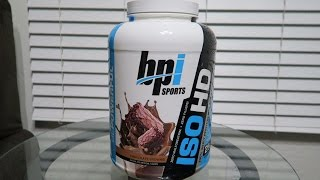 Taste Test | BPI Sports ISO-HD - Chocolate Brownie