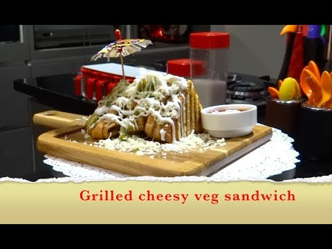 Grilled cheese sandwich recipe | in hindi | Swad Cooking Institute