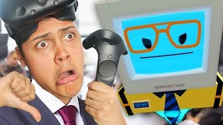 I GOT FIRED FROM MY OFFICE JOB - Office Worker (Job Simulator Virtual Reality)