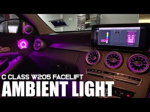 【ML】W205 Facelift Ambient Light Upgrade