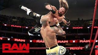 Ricochet vs. AJ Styles – United States Championship Match: Raw, July 1, 2019