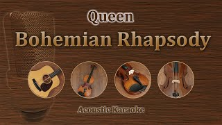 Bohemian Rhapsody   Queen (Acoustic Karaoke, Piano, Violin, Cello)
