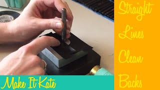 Metal Stamping Jewelry Tips (Clean Backs)