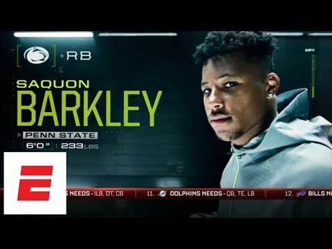 NFL Nation mock: Saquon Barkley, Sam Darnold, Baker Mayfield go top 3, but not in that order | ESPN