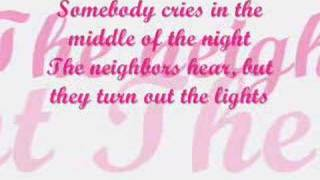 Concrete angel lyrics - Martina McBride