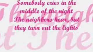 Concrete angel lyrics - Martina McBride