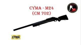 [ОБЗОР] CYMA - M24 CM 702 SPRING airsoft (страйкбол)