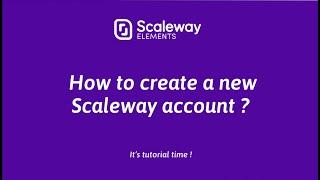 Vidéo de Scaleway