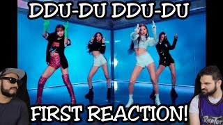 BLACKPINK   '뚜두뚜두 (DDU DU DDU DU)' MV | FIRST REACTION!