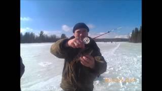 Зимняя рыбалка на ильинском пруду