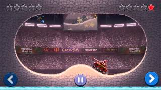Drive Ahead! Replay: Motorcycle vs. Tank.