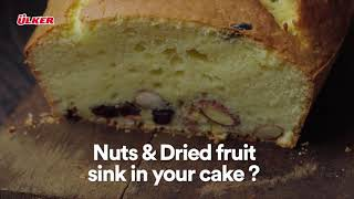 Prevent Nuts & Dried Fruits From Sinking In Cakes | Last-Minute Baking Hacks
