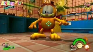 Garfield Show Space Lasanha   Episode 1 Wii   ZigZag Kids HD