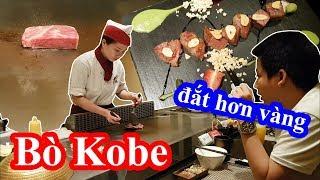 Lần đầu ăn bò Kobe mắc nhất thế giới và bị sốc khi biết người sài gòn ăn bò Kobe như ăn hủ tiếu gõ