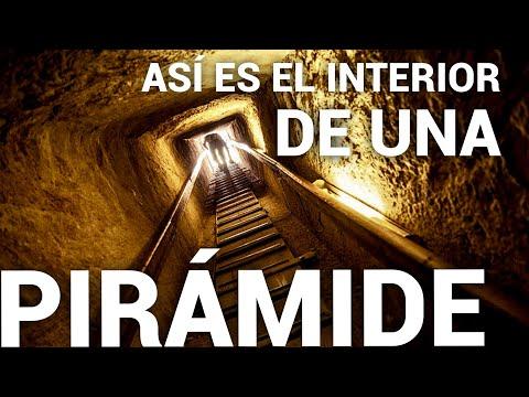 Así Es Cómo Se Ve Por Dentro Una Pirámide En Egipto