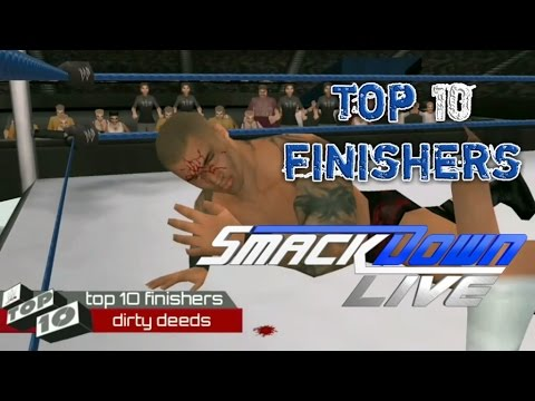 Download Top 10 finishers from smackdown Wwe2k11 HD Mp4 3GP Video and MP3