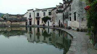 preview picture of video 'Hongcun Village 宏村 - 往承志堂 day 5 - 54 ( China )'
