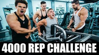 4000 REP ARM WORKOUT | DON'T TRY THIS!!