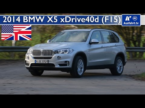 2014 BMW X5 xDrive40d - Test, Test Drive and In-Depth Car Review (English)