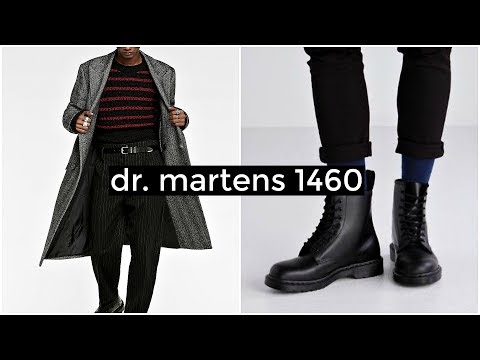 HOW TO STYLE DR. MARTENS 1460 | Men's Fashion | Lookbook | Daniel Simmons