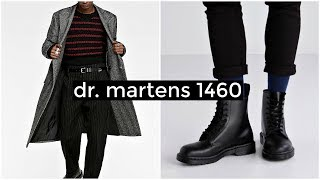 HOW TO STYLE DR. MARTENS 1460 | Mens Fashion | Lookbook | Daniel Simmons