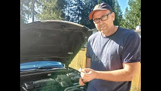 How to check your car's oil.