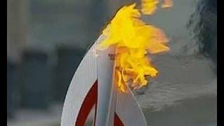 В Челябинске на Металлургическом р-е был Олимпийски огонь!!!