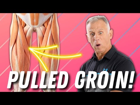 Video Best Self-Treatment for a Groin Pull- Including Stretches & Exercises.