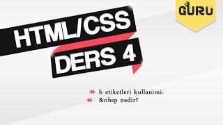 #4 HTML & CSS Dersleri - &nbsp nedir?