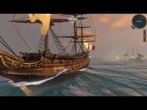 Empire Total War - Naval Battle: A lucky shot [HD - Ultra Settings]