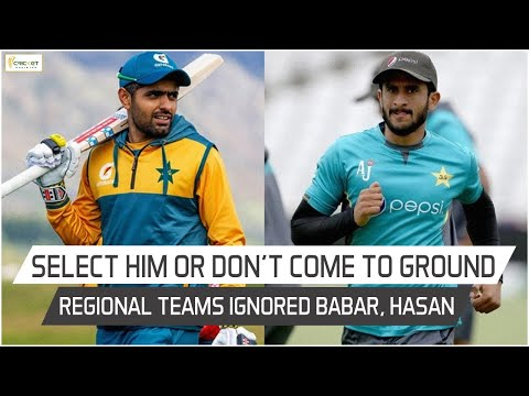 Lack of chances for Babar, Hasan at junior level