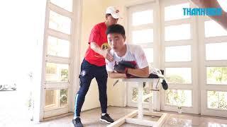 Xuân Trường, Công Phượng, Tuấn Anh rèn sức cho V-League 2018