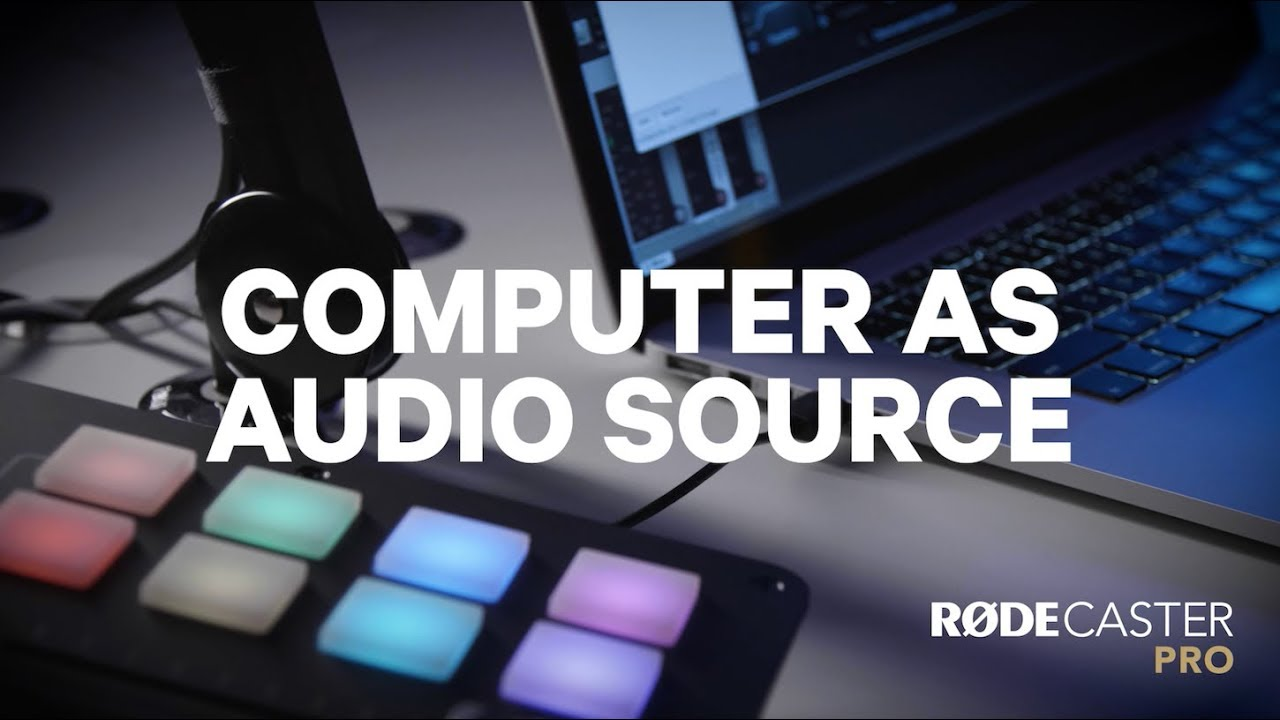 Počítač jako zdroj zvuků