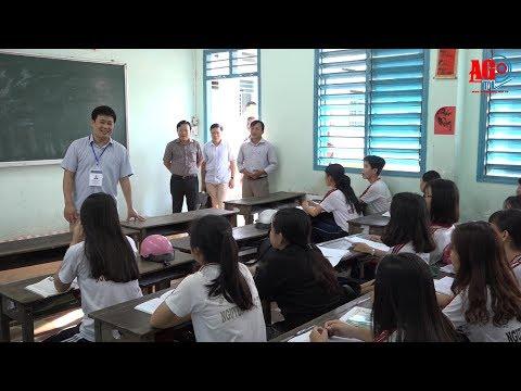 Bộ Giáo dục và Đào tạo kiểm tra công tác chuẩn bị kỳ thi THPT quốc gia 2018 tại An Giang