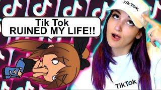 My TikTok OBSESSION Ruins My Life   Weird Gacha Life Story Reaction