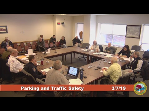 Parking and Traffic Safety Committee 3.7.2019