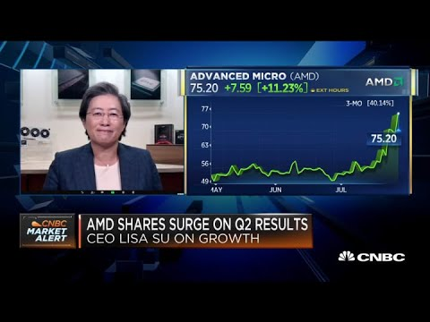 AMD CEO Lisa Su on Q2 earnings beat, outlook and more