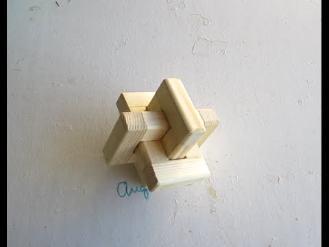 Puzzle cruz de madera, medidas piezas de puzzles