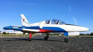 Freewing L 39 Albatros 80mm EDF Jet Maiden Flight Review