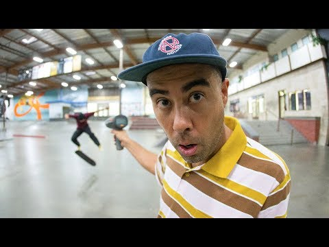 The Fastest Varial Flip Ever With Eric Koston And Ryan Alvero