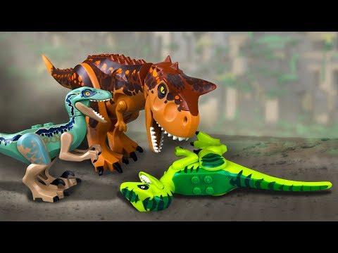 LEGO Dinosaurs vs Dino Robot | Dinosaurs of Jurassic World | New Animation