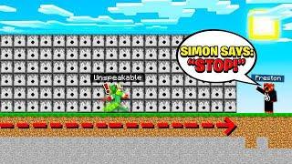 SIMON SAYS IN MINECRAFT DEATHRUN!